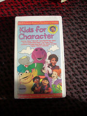 Kids for Character 1990s VHS