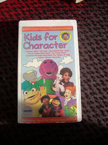 File:Kids for Character 1990s VHS.jpg
