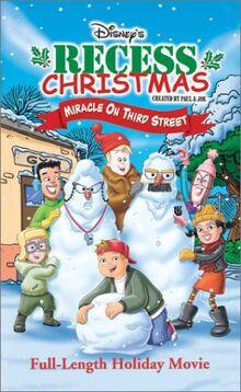Recess Christmas 2001 VHS