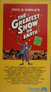 The Greatest Show On Earth VHS