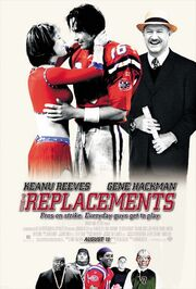 2000 - The Replacements Movie Poster