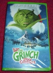 How the Grinch Stole Christmas (2000 Version) VHS