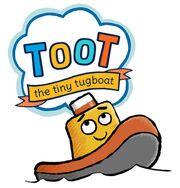 Toot the Tiny Tugboat Logo