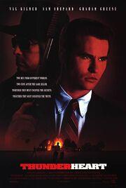 1992 - Thunderheart Movie Poster 2