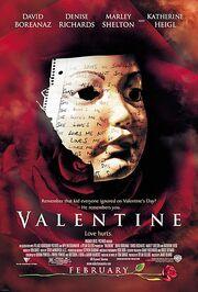 2001 - Valentine Movie Poster