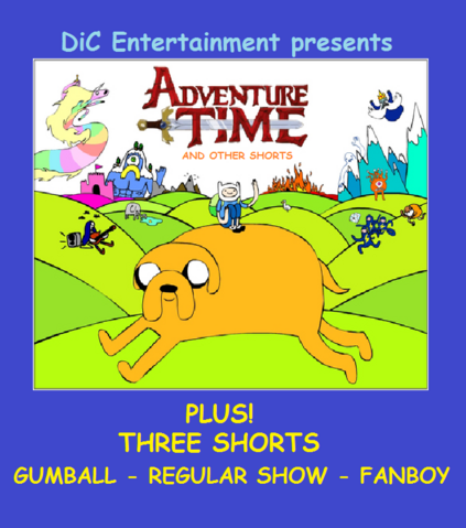 File:Adventure Time And Other Shorts VHS.png