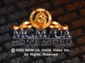MGM UA Home Video Copyright Screen (2000 Variant)
