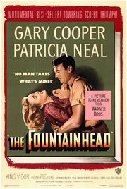 1949 - The Fountainhead Movie Poster