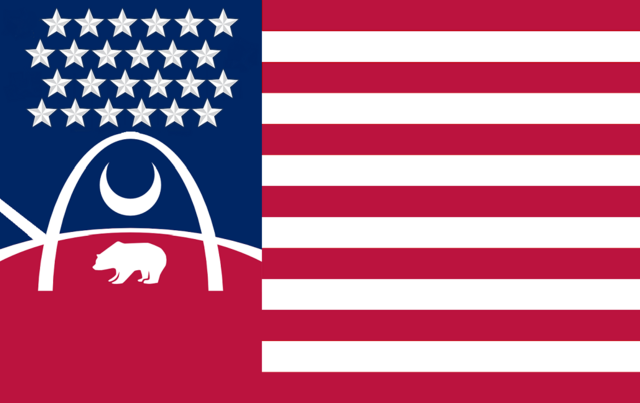 File:Missouri State Flag Proposal No 4 Designed By Stephen Richard Barlow 23 OCT 2014 at 1449hrs cst.png