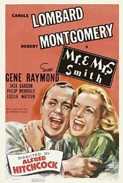 1941 - Mr & Mrs Smith Movie Poster