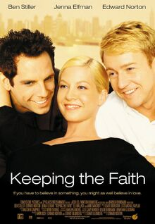 2000 - Keeping the Faith Movie Poster