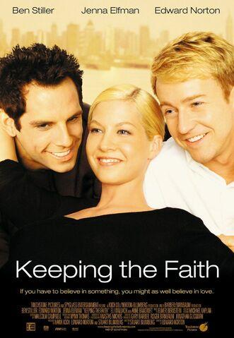 File:2000 - Keeping the Faith Movie Poster.jpg