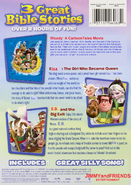 Cartoon bible heroes triple back