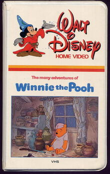 The many adventures of winnie the pooh vhs