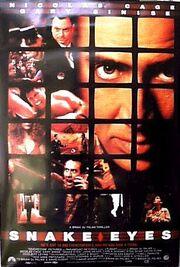 1998 - Snake Eyes Movie Poster
