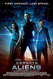 2011 - Cowboys And Aliens Movie Poster