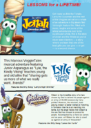 Veggie Action DVD Collection Vol. 1 back cover