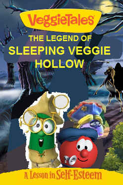 Legend of sleeping veggie hollow dvd cover