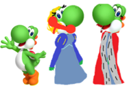 Yoshi and her parents