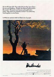 1973 - Badlands Movie Poster