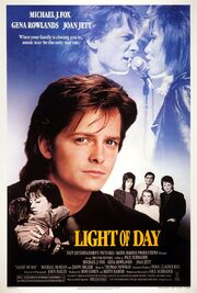 1987 - Light of Day Movie Poster