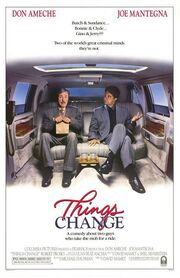 1988 - Things Change Movie Poster