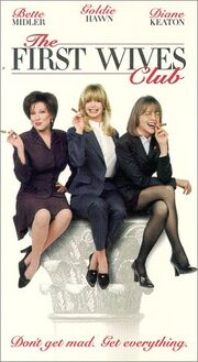 The first wives club vhs
