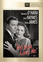 1946 - Do You Love Me DVD Cover (2012 Fox Cinema Archives)