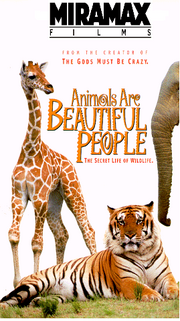 Animals Are Beautiful People VHS