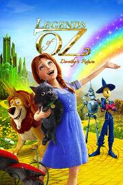 Legends of Oz Dorothy's Return VHS Cover