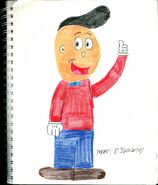 Blappy toonford colored penciled by toonman1508-da2ou5v