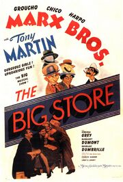 1941 - The Big Store Movie Poster