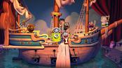 The cartoon pirates
