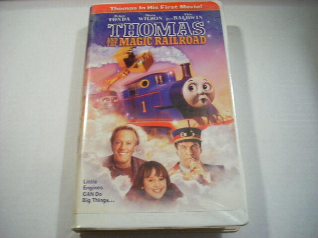 File:Thomas and the Magic Railroad VHS.JPG