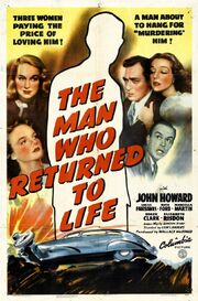 1942 - The Man Who Returned to Life Movie Poster