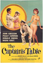 1959 - The Captain's Table Movie Poster