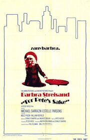 1974 - For Pete's Sake Movie Poster