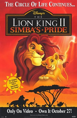 File:The Lion King II-Simba's Pride poster.jpg