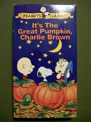 It's The Great Pumpkin Charlie Brown 1994 VHS