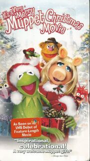 Its a Very Merry Muppet Christmas Movie VHS