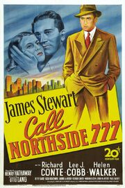 1948 - Call Northside 777 Movie Poster -1