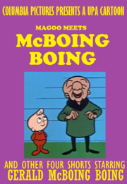 Magoo Meets McBoing Boing And Other Four Shorts 1996 VHS