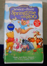 Winnie the Pooh Springtime with Roo VHS