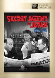 1942 - Secret Agent of Japan DVD Cover (2012 Fox Cinema Archives)