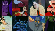 Villains from Mickeys House of Villains Trailer