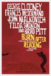 2008 - Burn After Reading Movie Poster