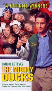 The mighty ducks vhs