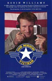 1987 - Good Morning, Vietnam Movie Poster