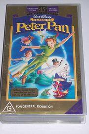 Peter pan australian vhs