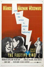 1959 - The Fugitive Kind Movie Poster
